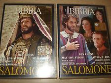 2 DVD LE STORIE DELLA BIBBIA SALOMONE 1° E 2° PARTE PARTE OPERA COMPLETA