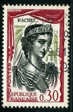STAMP / TIMBRE FRANCE OBLITERE N° 1303 / CELEBRITE / RACHEL