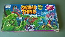 Swamp Thing Battle for the Bayou Board Game Vintage 1991 Complete