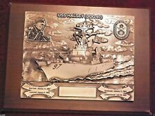 97 DDG HALSEY  US Navy Plaque. FREE Shipping
