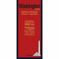 Red Maps Washington DC CURRENT EDITION - City Travel Guide