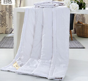 Hot 100% Silk Comforter Mulberry Silk Filled Comforter Silk Duvet Quilt Blanket