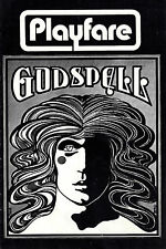 "Stephen Schwartz ""GODSPELL"" Dean Pitchford (""Carrie"") 1971 New York Playbill"