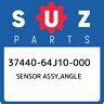 37440-64J10-000 Suzuki Sensor assy,angle 3744064J10000, New Genuine OEM Part