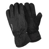 Men's Cold Weather Fleece Lined Waterproof Winter Gloves with Anti Slip Grippers