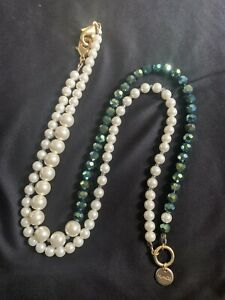 Mimco Pearl Beaded Necklace