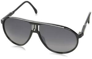 Lunettes de soleil style carrera champion 138 noir et blanc UV400 Catégorie 3