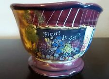 Certified International Boulevard Fleur de Paris Ice Cream Bowls x1