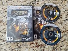 Lord of the Rings Online Mithril Edition EUC RARE HTF Complete
