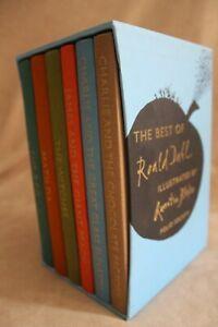 The Best of Roald Dahl Six Volume Book Set Folio Society Quentin Blake BFG