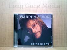 Life'll Kill Ya by Warren Zevon (CD, 2000, Artemis Records)