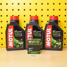 Yamaha mt-07 ölwechselset aceite HIFLO filtro aceite denso disco Motul 5100 4t 10w40