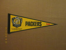 NFL Green Bay Packers Vintage SGA Celebrating 90 Years Sentry Football Pennant