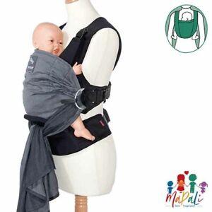 Manduca - Manduca Duo - grau -  Babytrage - Baby Carrier