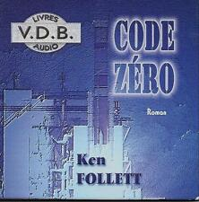 LIVRE AUDIO / KEN FOLLETT : CODE ZERO - CD  - THRILLER