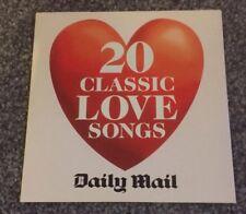 20 CLASSIC LOVE SONGS CD