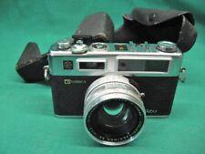 YASHICA Electro 35 GSN Rangefinder Film Camera Needs Seals Works