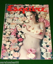 DEMI MOORE PINUP 1993 Esquire Magazine, Charles Barkley ETHAN CANIN, David Bowie