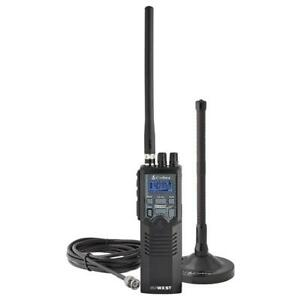 Cobra HH RT 50 Road Trip Portable 40 Channel CB Radio With External Antenna