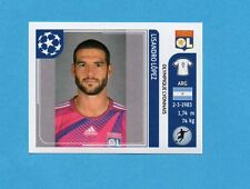 PANINI-CHAMPIONS 2011-2012-Figurina n.241- LOPEZ -OLYMPIQUE L.-NEW BLACK