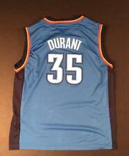 Boy's Oklahoma City Thunder Jersey #35 Kevin Durant by adidas - Size Large