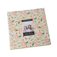 "Summer Sweet Layer Cake ~ Moda ~ (42)10"" Fabric Square 100% Cotton 37580LC"