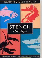 Fun with Stencils: Sea Creatures