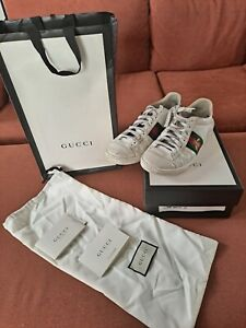 Gucci Ace White Sneakers Size 37.5