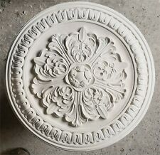 Plaster Ceiling Rose Flower Middle with Tulip Surround 510mm CR17