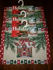 NWT Set of 6 Holiday Tapestry Christmas PLACEMATS