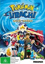 Pokemon Jirachi: Wish Maker NEW R4 DVD
