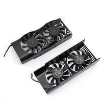 Para MSI GeForce GTX 1050 2GT LP Graphics Card Cooler Fan Ventilador DC12V 2Pin