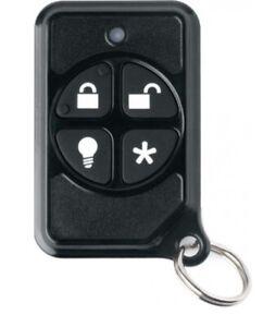 (5)Interlogix Micro KeyFob 319.5MHz SAW Remote Accessory 600-1064-95R