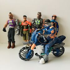 Lot of 5 Action Man and Dr X Figures Vintage 1999 - 2006