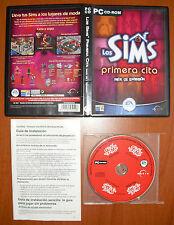Los Sims Primera Cita (expansión) [PC CD-ROM] Maxis EA Versión Española COMPLETO