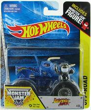 Hot Wheels Monster Jam Monster Jurarric Attack W/ Figure 1:64 Die-Cast Edge Glow