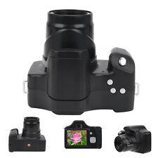 3.0in 18X Zoom HD SLR Camera Portable Digital Camera Universal Camcorder Black