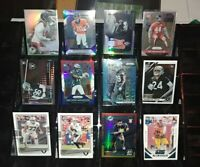 Raiders 12 card RC Prizm rookie lot Nelson Agholor Jonathan Abram Clelin Ferrell