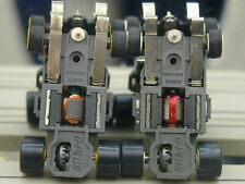2 G-PLUS CHASSIS - TRACK TESTED FAST - AFX AURORA SLOT CAR LOT & TYCO PRO T-JET