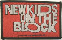 NEW KIDS ON THE BLOCK PATCH AUFNÄHER # 8 10x6cm FLICKEN ABZEICHEN VINTAGE 1989