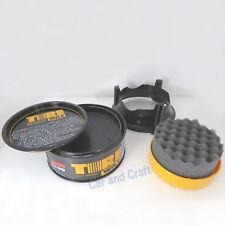 Soft99 Tire Black Wax Natural Sheen Glossy look Shine Solid Hard Coating Japan