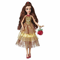 Disney Princess Style Series Belle Doll, Contemporary Style with Purse and Shoes