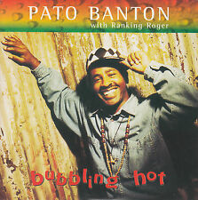 "PATO BANTON Bubbling Hot PICTURE SLEEVE 7"" 45 rpm record + jukebox strip RARE!"
