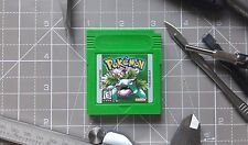 Nintendo Gameboy, Pokemon Green version cartridge, Plastic non painted shell!