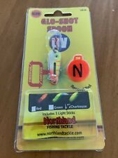 Northland Tackle Glo Shot Spoon Fishing Lure Bait 1/8 Oz Electric Perch Gss3-60