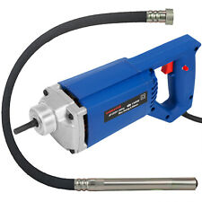 1300w Powerful Electric Concrete Vibrator 1.5m Hose Copper Motor 3600 RPM