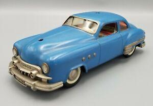 Schuco Elektro Ingenico 5311 Tin Toy Car Bright Blue BEAUTIFUL CONDITION