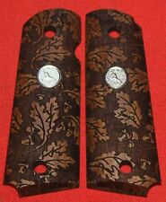 Colt Firearms Full Size 1911 Government / Commander Grips Oak Leaves