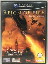REIGN OF FIRE LET THE BATTLE IGNITE NINTENDO GAMECUBE