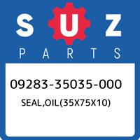 09283-35035-000 Suzuki Seal,oil(35x75x10) 0928335035000, New Genuine OEM Part